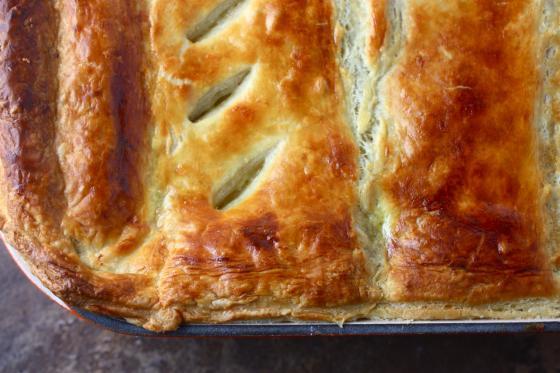 Chicken Pot Pie with Puff Pastry Crust Recipe