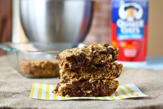 breakfast bar to celebrate—it's vegan after all. And contains oats ...