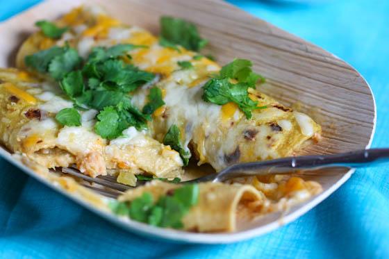 Shrimp Enchiladas Verde Recipe
