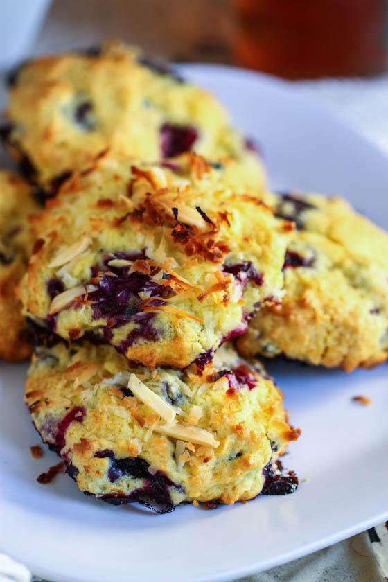 Coconut Blueberry Muffin Top Recipe