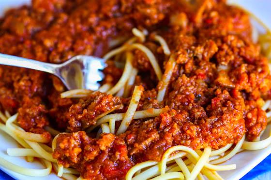 Spaghetti Sauce Recipe Spaghetti With Meat Sauce