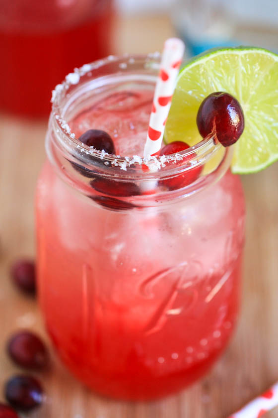 cranberry margarita recipes with tequila