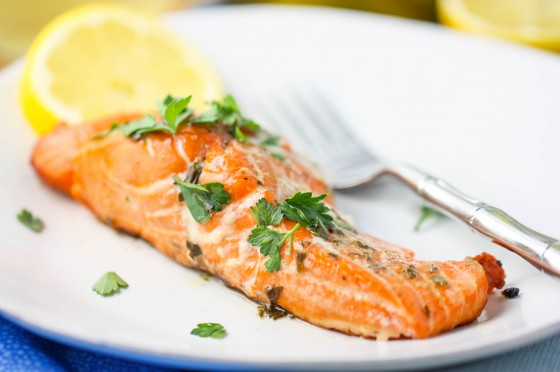 ... stuffed baked salmon with herb jus baked salmon recipes baked salmon
