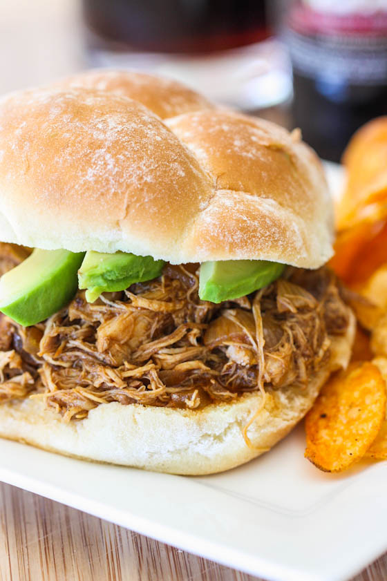 root beer pulled chicken-5732