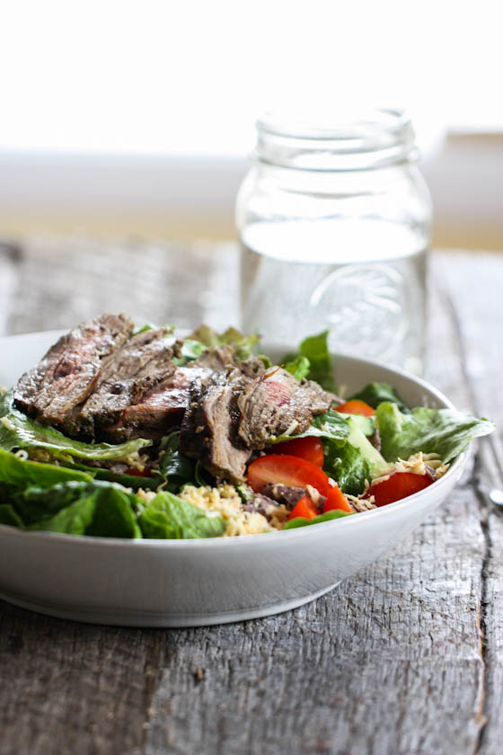southwestern steak salad-8497